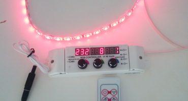 Fjärrkontroll till RGB-kontroller