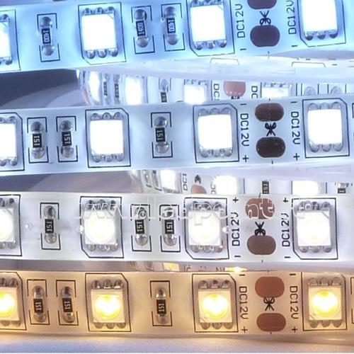 LED strips med olika ljusfärger