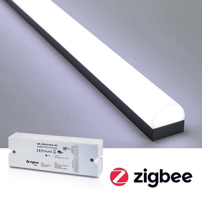 Dimra LED tejp & LED lister med Ikea Trådfri, Philips Hue via ZigBee