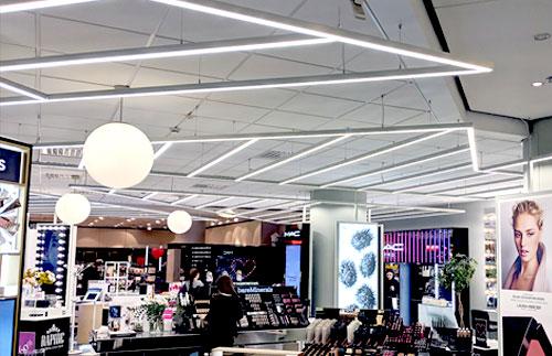 LED-strip projekt belysning