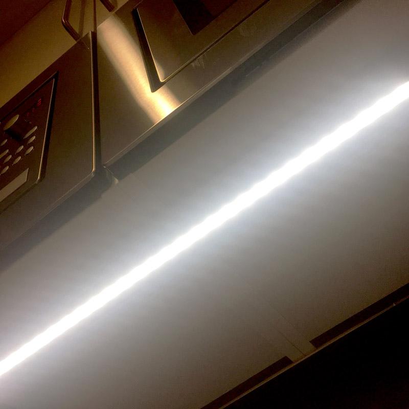LED tejp i kök - Bilder från färdigt kök