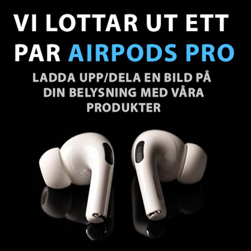 Tävling: Vi lottar ut ett par Apple AirPod Pro