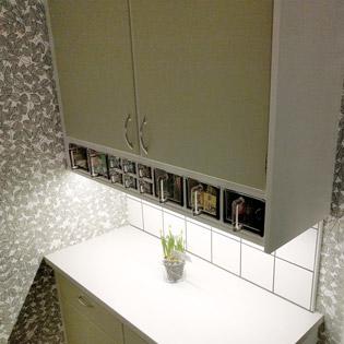Arbetsbelysning i kök. LED tejp kan med aluminiumprofiler enkelt monteras i köket för effektiv och snygg belysning.