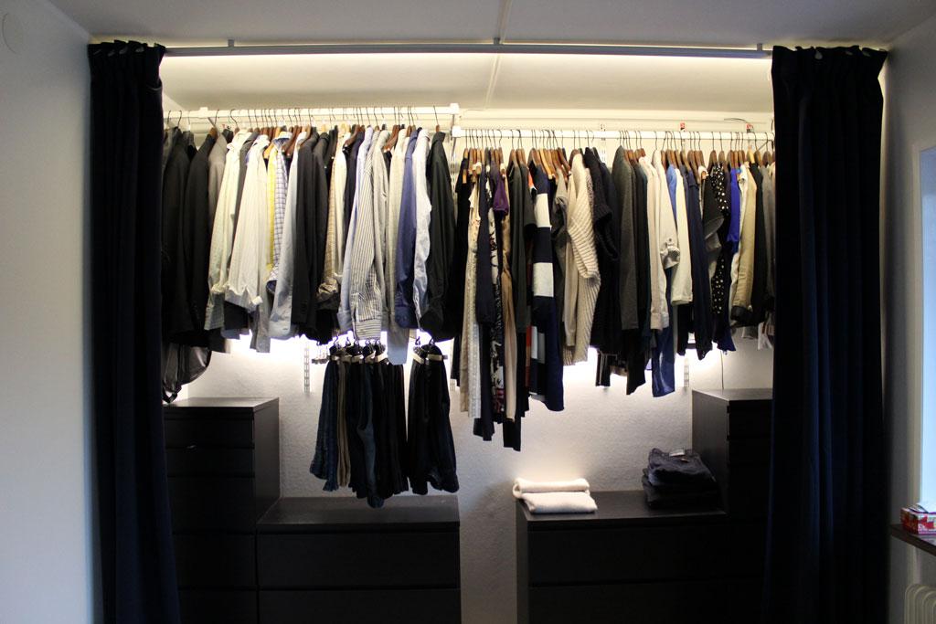 LED strip i garderob